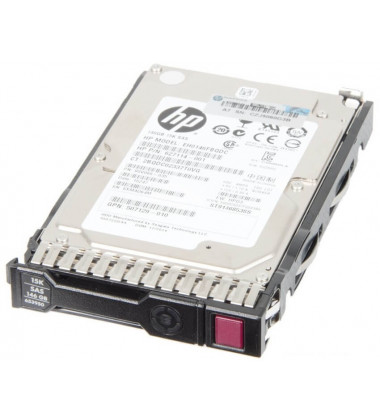 652605-B21 HPE 146GB SAS 6G Enterprise 15K SFF (2.5in) SC 3yr Wty HDD foto frontal