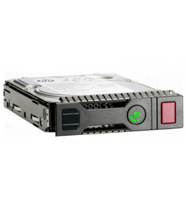 765466-B21 | HPE 2TB SAS 12G Midline 7.2K SFF (2.5in) SC 1yr Wty 512e Digitally Signed Firmware HDD foto perfil frontal