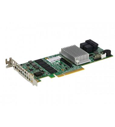 AOC-S3108L-H8iR Controladora Supermicro RAID SAS 3.0 PCI-E X8 2GB 2 IPASS