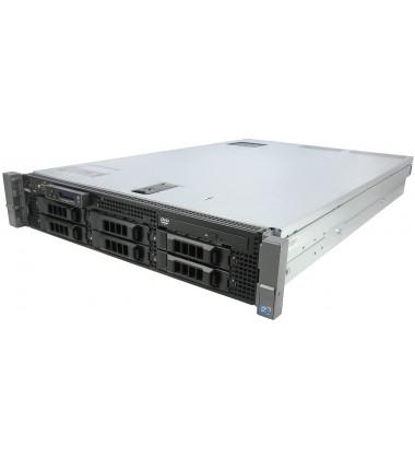 Servidor Dell PowerEdge R710 Intel Xeon 1 x E5-2660 (8-Cores / 16-Threads) 16GB RAM 2 x 300GB SAS 10K pronta entrega 2 x E5-2660 (8-Cores / 16-Threads) 16GB RAM 2 x 300GB SAS 10K pronta entrega