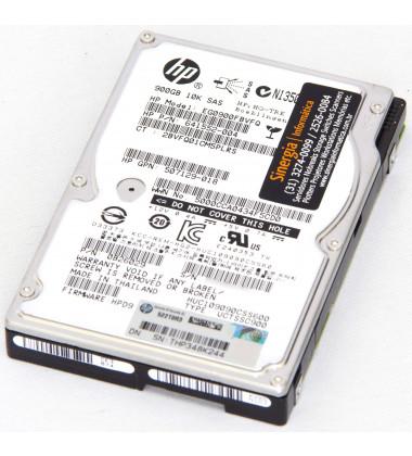 "641552-004 HDD 900GB SAS 10K 2,5 polegadas (2,5"") para Servidores foto frontal"