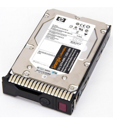 765424-B21 | HPE 600GB SAS 12G Enterprise 15K LFF (3.5in) SCC 3yr Wty HDD foto perfil frontal