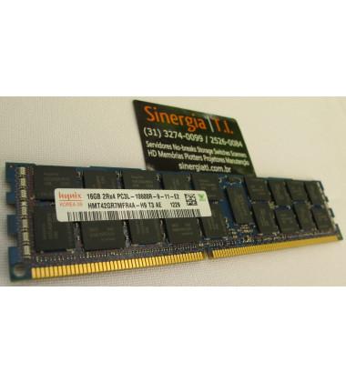 Memória RAM 16GB DDR3 1333MHz Registrada ECC Hynix Part Number: HMT42GR7MFR4A-H9