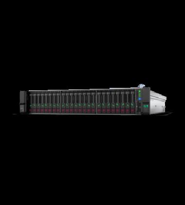 Foto de lado Servidor HPE ProLiant DL380 Gen10 2P 6148 64GB-R P408i-a 8SFF 2x800W PS PN: 875764-S05