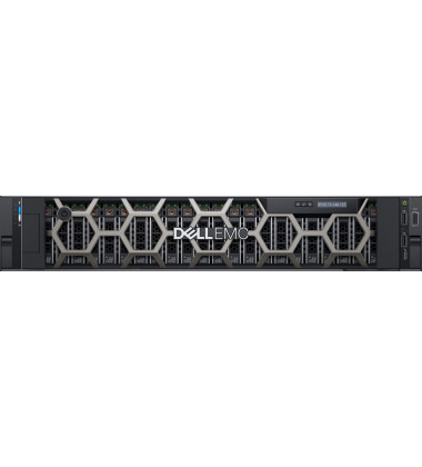 R7525 Servidor Dell PowerEdge R7525 com 2 Processadores AMD EPYC 7452 clock de 2,35 GHZ 32 Cores / 64 Threads 128MB memória Cache DDR4-3200
