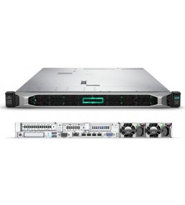 Servidor HP Enterprise ProLiant DL360 Gen10 PN: 875842-S05 foto com a frente e a traseira