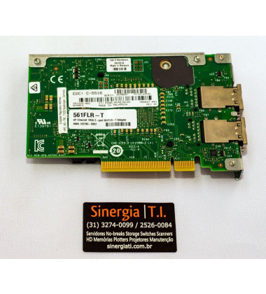 HSTNS-B007   HP Adaptador Ethernet 10Gb 2 portas 561FLR-T para Servidores Gen9 spares RWN capa