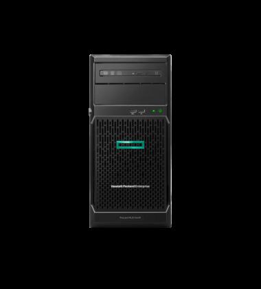 P16927-S01 Servidor HPE ProLiant ML30 Gen10 E-2124 16GB RAM 1TB SATA Fonte 350W Windows Server Essentials 2019 pronta entrega