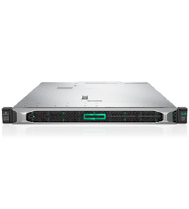 Servidor DL360 Gen10 HP Enterprise Intel Xeon foto com bezel