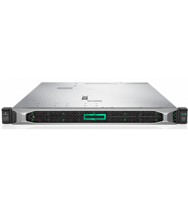 Servidor HP Enterprise ProLiant DL360 Gen10 PN: 875842-S05 foto frontal com Bezel