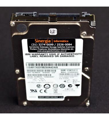"""45W9614 HD IBM 300GB SAS 6 Gbps 15K RPM 2,5"""" para Servidores Power Systems Fru pronta entrega"""