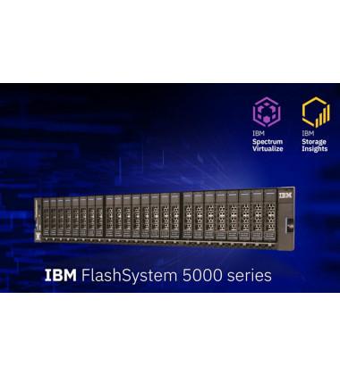 2072-2H2 IBM FlashSystem Storage 5010 LFF 7 x 12TB SAS 7.2K - 72TB Líquidos imagem