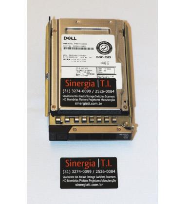 "KPM5XVUG960G SSD Dell 960GB SAS 12Gbps 2.5"" 512e Mix Use Hot-plug Solid State Drive pronta entrega"