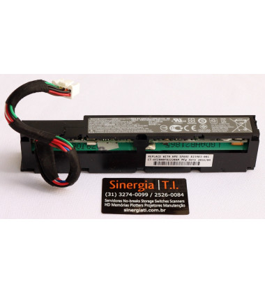 815983-001 Bateria de armazenamento inteligente HPE 96W 145mm Gen9 e Gen10 pronta entrega