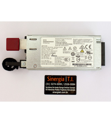 830219-001 Fonte Redundante Para Servidores HPE ProLiant DL160 DL180 ML150 Gen9 900W pronta entrega