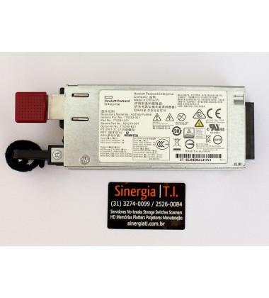 744686-B21 | Fonte Redundante para Servidor HPE ProLiant DL20 DL160 ML150 Gen9 800W 900W Gold AC Power