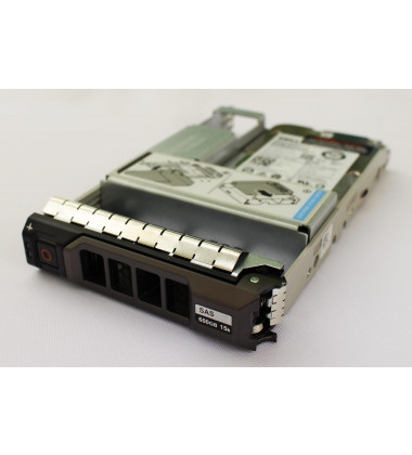 "400-AJRC   Dell 600GB SAS 12 Gbps HD para Servidor 15,000 RPM SSF (2.5"") HDD HTYGX Lateral"