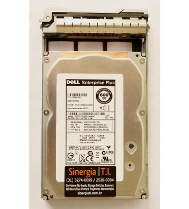 HUS156060VLS600 HD Dell 600GB SAS 6 Gbps 15K RPM LFF para Storage EqualLogic PS4100 PS4110 PS6100 PS6110 PS4100XV PS4110XV PS6010 PS6010XV PS6110XV - Model pronta entrega