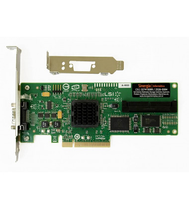 SC44GE HP Placa Controladora SAS (PCI-E) Single Channel com adaptador