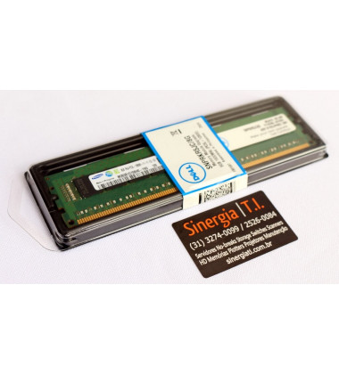 Memória RAM Dell 8GB para Servidor FC420 DDR3 1600 MHz PC3L-12800R RDIMM ECC Registrada pronta entrega
