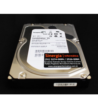 ST32000444SS | HD Seagate para Servidores e Storage 2TB 16MB cache SAS 6G 7,2K RPM 9JX248-031 Frontal