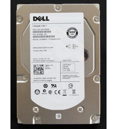 9FN066-150 | HD Dell para Servidores e Storage 600GB 16MB cache SAS 6G 15K RPM ST3600057SS foto etiqueta