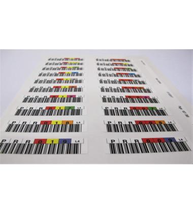 Q2009A Kit de Etiquetas de Código de Barras HP para Fitas LTO-4 Ultrium pronta entrega