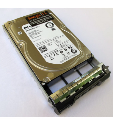 "9ZM173-036 HD Dell 1TB SATA 6Gbps 7.2K RPM 3.5"" 512n para Servidor R320 R420 R520 R620 R720 T320 T420 T520 T620 T720 envio imediato"