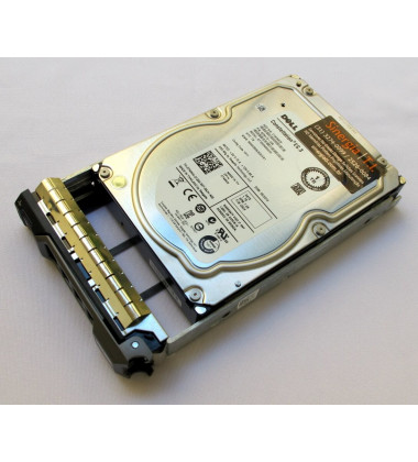 "DP/N 0T4XNN HDD DELL 1TB SATA RPM 7.2 K 3.5"" lateral"