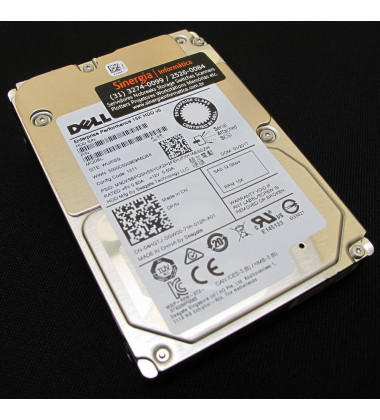 400-ATIS | Dell 900GB SAS 12Gbps Enterprise 15,000 RPM SFF (2.5in) HDD X4GP6 perfil esquerdo