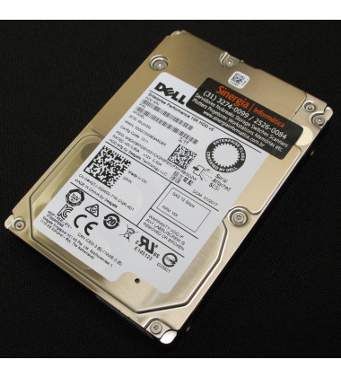 400-AJRF | Dell 600GB SAS 12Gbps Enterprise 15,000 RPM SFF (2.5in) HDD Y06G3 perfil direito