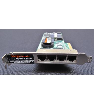 PN: 0H092P | Placa Rede Dell Intel Pro/1000 4 Portas Pci-e MY-0H092P-12402-04H-00IG-A00 foto frontal
