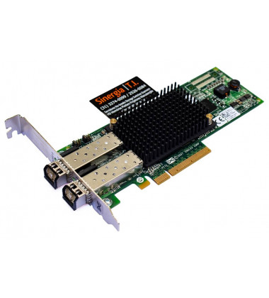 LPe12002-E Dell / Emulex 2-Port 8Gb/s PCI-Express Fibre Channel Host Bus AdapterHBA Emulex capa