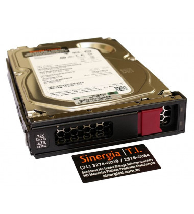 871332-002 HPE 2TB SATA 6G Midline 7.2K LFF (3.5in) LP Digitally Signed Firmware HDD close