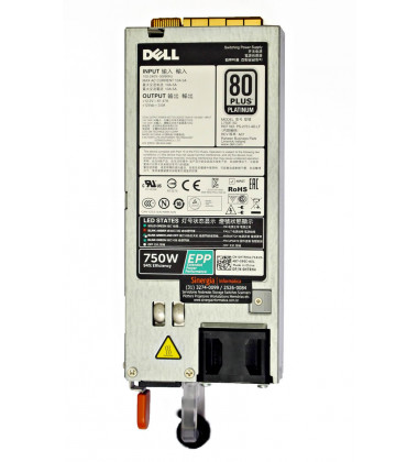 Peça do Fabricante 1C8RF Fonte redundante Dell 750W para Servidor Dell PowerEdge R630 R730 R730xd R630 R740 R740xd T640 R640 R840 pronta entrega