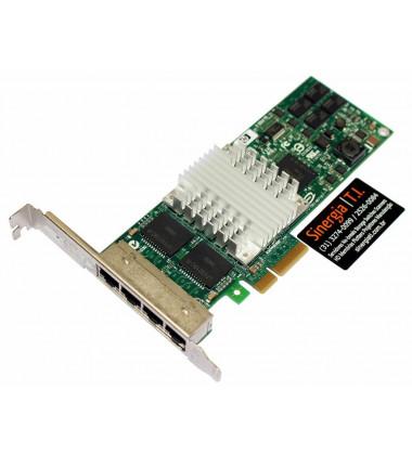 435508-B21 Placa de rede HP Quad Port Gigabit PCI Express Quatro Portas label geral