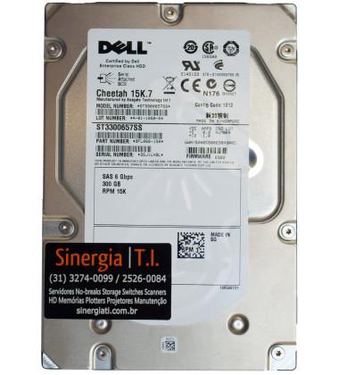 "HD 300GB SAS 15K 3,5"" 6Gbps Hot-swap para Storage Dell MD3200 M1000e MD1120 MD1220 MD3220i MD3620i pronta entrega"