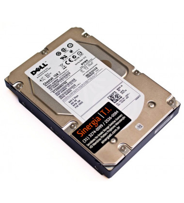 "HD Dell 300GB SAS 15K RPM 3,5"" 6Gbps para Servidor R910 PowerEdge pronta entrega"