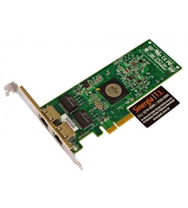 458491-001 Placa de rede NC382T PCI-E Dual Por Gigabit diagonal