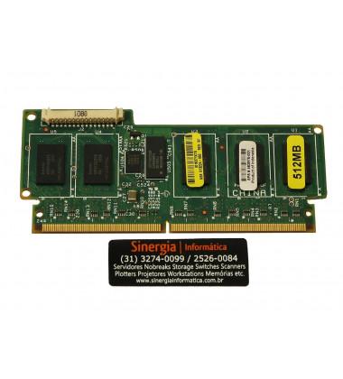 462975-001 Módulo de Memória Cache de gravação BBWC HPE 512MB para servidore HPE Proliant DL380 G7 DL360 G7 ML350 G7 RAID 5 face