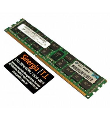 Memória RAM HP Para Servidor DL165 G7 16GB  Dual Rank x4 PC3-12800R DDR3-1600 MHz ECC capa