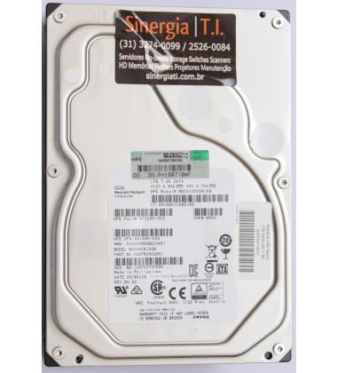 "861695-002 HD HPE 1TB SATA 6G Entry 7.2K LFF 3.5"" RW 1yr Wty GP/N em estoque"