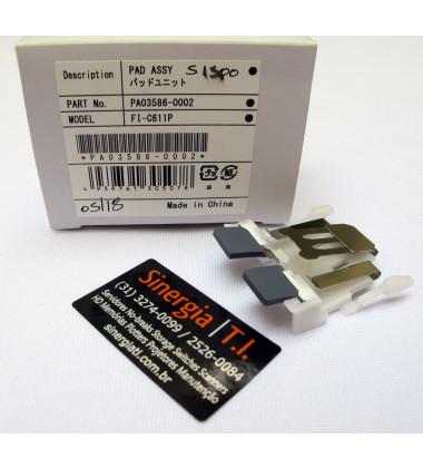 PA03586-0002 | Pad Assy para Scanner Fujitsu S1500, fi-6110 e N1800 foto com a caixa