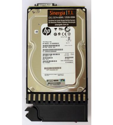 "719770-001 HD HP 1TB SAS 6Gb/s  Enterprise 7.2K LFF Hot-Plug 3,5"" Storage P2000 G3 MSA2312fc MSA2000 foto etiqueta"