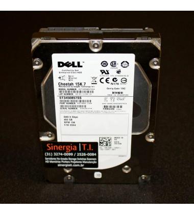 "0R749K HD Dell 450GB SAS 6Gb/s Enterprise 15K LFF 3.5"" Hot-Plug pronta entrega"