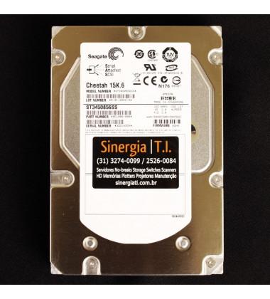 "ST3450856SS HD Dell EqualLogic 450GB SAS 15K RPM 3Gbps Enterprise LFF 3.5"" Hot-Plug pronta entrega"