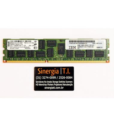 49Y1415 Memória RAM IBM 8GB RDIMM PC3L-10600R DDR3 1333MHz FRU PC3L-10600R-09-11-E2 8GB 2Rx4