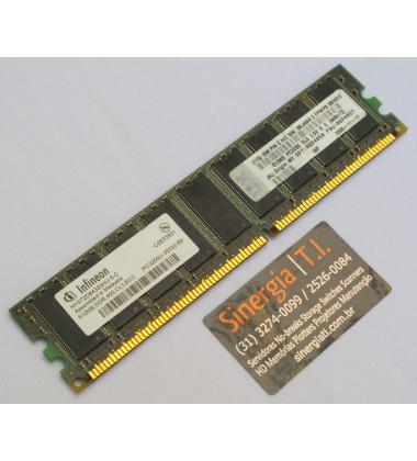 06P4057 | Memória RAM IBM 512MB DDR PC3200 CL3 2.5V para Servidor IBM x206 8487 e 8482