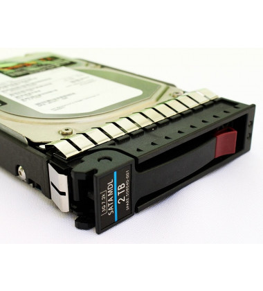 508040-001 HD HP 2TB SATA 6Gb/s Enterprise 7.2K LFF Hot-Plug 3,5 gaveta