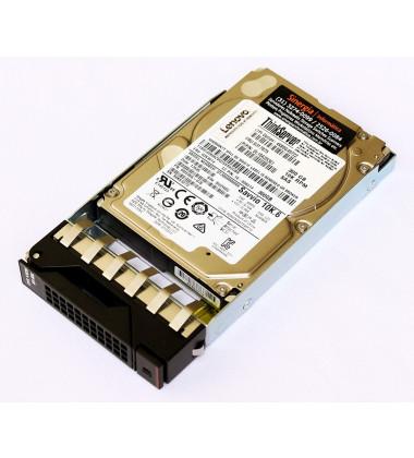 "FRU: 03X3614 HDD Lenovo ThinkServer 300GB 10K 2.5"" SAS Hot Swap Hard Drive diagonal"